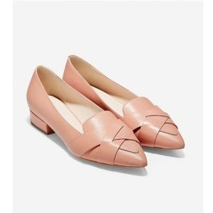 COLE HAAN Camila Leather Skimmer Flats Loafers 10